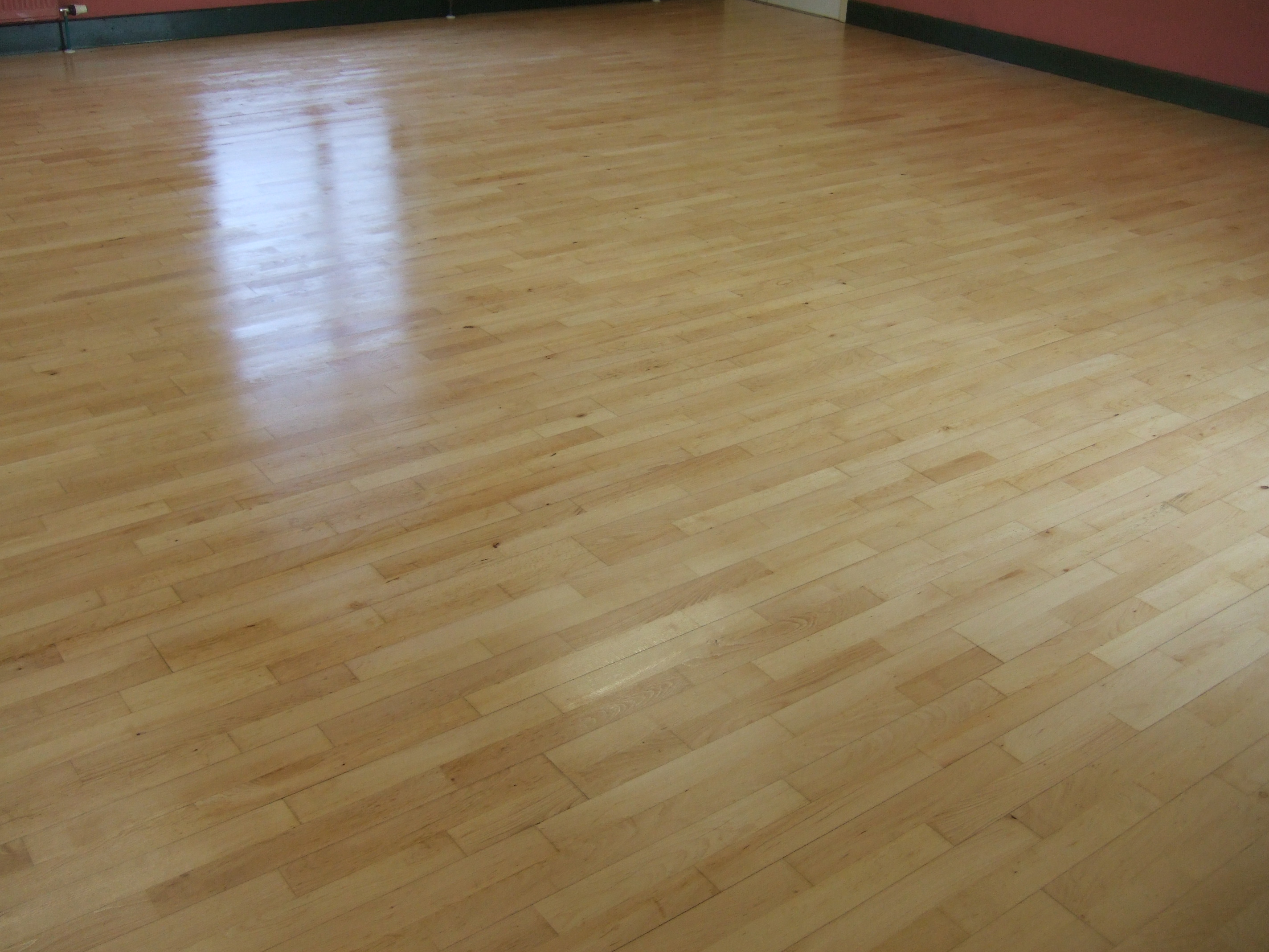 Village Hall laminate floor repaired