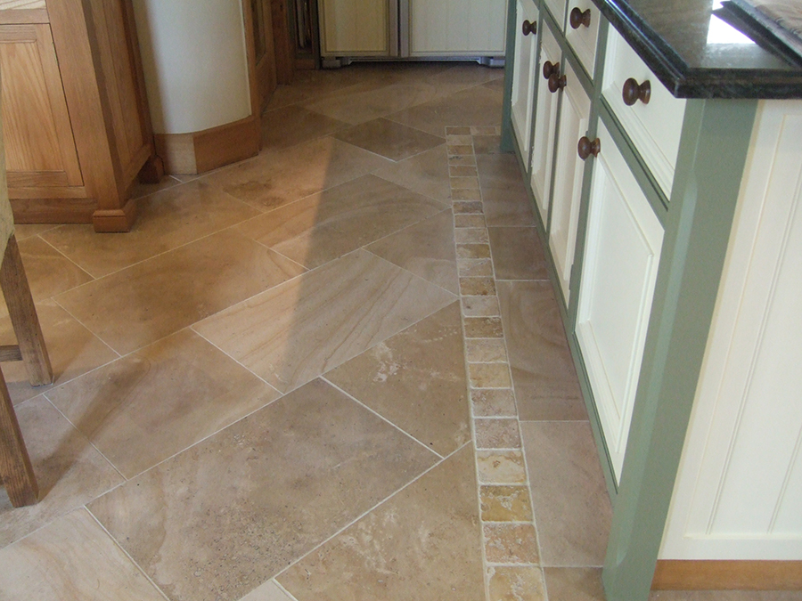 Jerusalem limestone floor unpolished