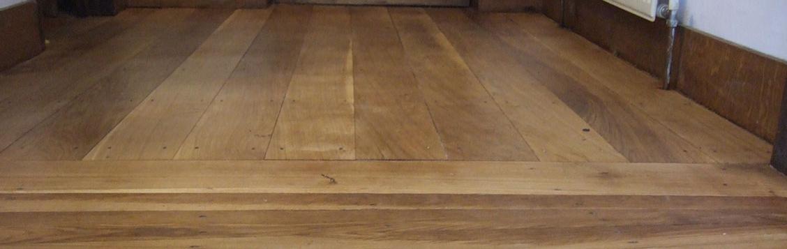 Oiled period oak floor