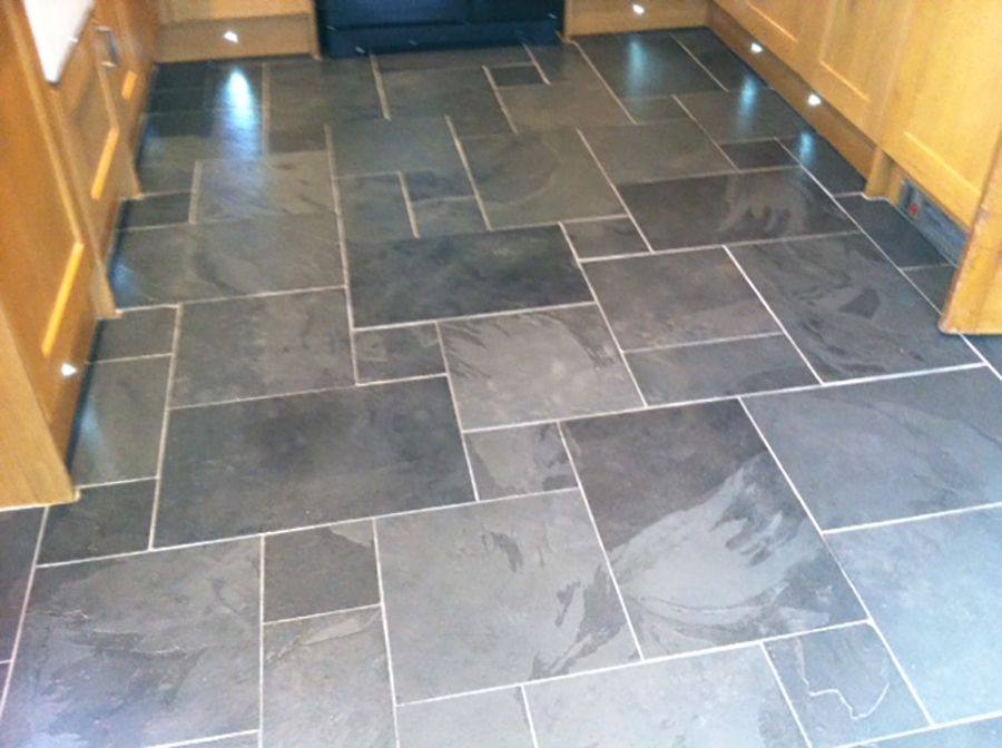 Slate tiled floor restoration | The Floor Restoration Company