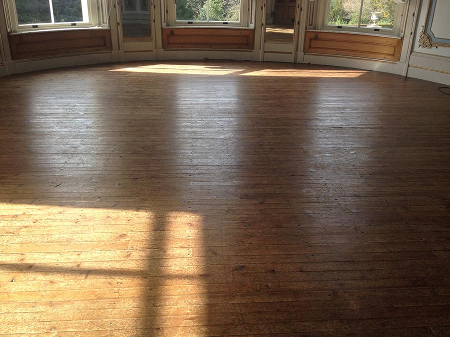 Repairing Victorian pitch pine floor